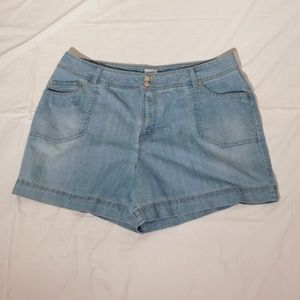 "JMS Just My Size Jean Shorts Size 22W 40"" Waist"